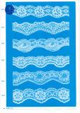 Trikot-Spitze für Kleidung/Kleid/Schuhe/Beutel/Rechtssache 3205 (Breite: 7cm)