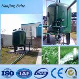 汚水処理場の機械砂カーボンフィルター