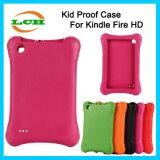 Hotselling Kidsproofエヴァの保護タブレットの箱はのための火Hdxを燃やす