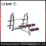 Máquina libre de la gimnasia del peso/banco olímpico/Tz-6043 de la declinación