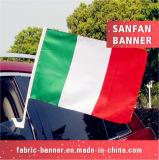 Qualidade superior que anuncia a bandeira do carro da impressão do Sublimation da tintura