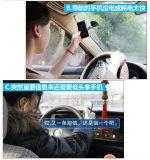 Заряжатель автомобиля передвижного держателя автомобиля вращения 360 градусов беспроволочный