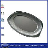 Populäre runde Aluminiumfolie-Wegwerftellersegmente für Pizza
