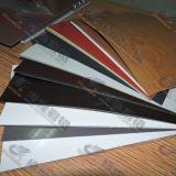 Hoja de aluminio de la capa del color de PE/PVDF para el panel de emparedado