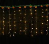 عيد ميلاد المسيح ستار ضوء/دلّاة جليديّة ضوء لأنّ عرس زخرفة