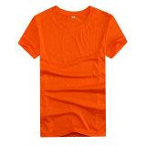 La coutume a estampé votre chemise meilleur marché de polyester de logo pour promotionnel