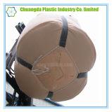 2 saco grande circular da tonelada dos laços FIBC para materiais de construção