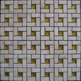 Mosaico di pietra naturale di Mable per le mattonelle del materiale da costruzione (FYSG046)
