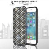 Caja a prueba de choques urbana del teléfono del caballero TPU Matal de la nueva serie para el iPhone 6