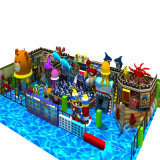 Nova série de navios piratas Indoor Kids Playground Equipment