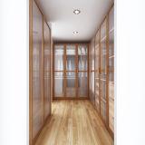 Guangzhou Fabricante Austrália Portas de vidro Armário de madeira de melamina (YG14-M03)