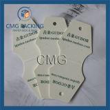 Cartão redondo do indicador da colar do cartão de Foldover (CMG-037)