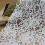 Cordón bonito de la tela del cordón 100%Nylon para la alineada nupcial