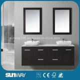 Мебель 2016 ванной комнаты типа Америка твердая деревянная с двойной раковиной