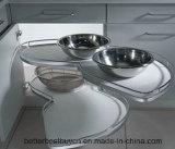 光沢度の高いヨーロッパ式の現代食器棚