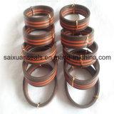 Sello hidráulico resistente de la tela del anillo de cierre del V-Embalaje del estilo