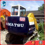 correa eslabonada usada 6ton/-5.5kw/H de Japón KOMATSU PC60/excavador hidráulico con el Isuzu-Motor