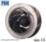 400mm arrière courbé Ec ventilateur centrifuge