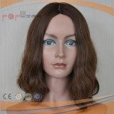 Bovenkant die Kastanjebruine Kleur verkopen die Pruiken van het Menselijke Haar van 100% de Europese charmeren