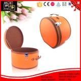 Коробка шлема круглого случая венчания изготовленный на заказ (8252)