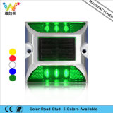 Green Solar Road Stud Safety Clignotant Light