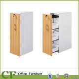 Bureau Side Stockage Haut Cabinet 4 tiroirs Tirez Cabinet Door