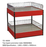 Yd-F3 Promotion Table com Wheels e Red Colour