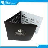 三重パンフレットを広告する卸し売り印刷のアートペーパー