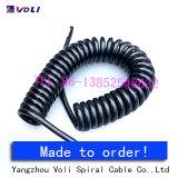 cabos da mola de bobina de 2-Core Pur
