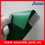 PVC مغلفة القماش المشمع ل شاحنة غطاء (STL1014)