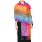 Lady Fashion Pashmina Echarpe souple en érable