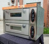 Goede Prijs 1 Dek 1 Oven van de Pizza van het Dienblad de Mini Elektrische met Tijdopnemer