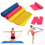 Bandes de résistance de latex de forme physique pour la bande de thérapie de Pilates de yoga