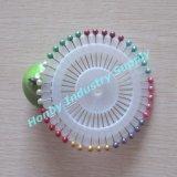 Roue bourrant les chevilles colorées de Sewing&Needle de tête de bille de perle de 38mm