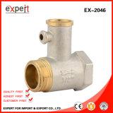 Válvula de seguridad de cobre amarillo