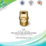 Сопла брызга вентилятора Широк-Углов чистки давления металла плоские