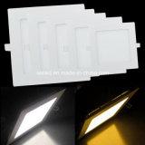 indicatore luminoso di comitato sottile di 3/4/6/9/12/15/18/24W 85-265V LED