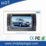 GPSの運行のGeelyの視野のための二重DIN車のDVDプレイヤー