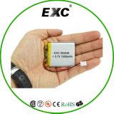 Batteria ricaricabile approvata dello Li-ione dell'UL 504045 3.7V 1000mAh