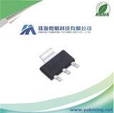 Circuito integrato lineare del regolatore CI AMS1117-3.3V di interruzione procedura bassa fissa