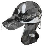 作業のための林業のヘルメットのカムフラージュの帽子