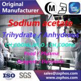 Acétate CH3coona de sodium de catégorie comestible