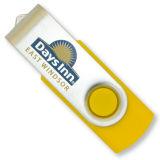 Giro maioria Pendrive da vara 8GB do USB da torção para o presente de casamento