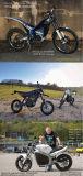 motor de movimentação elétrico do velomotor Motor/MID do jogo 48V /72V /96V BLDC da conversão da motocicleta 5kw