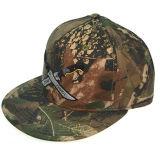 5 sombrero de ocio del panel de regalo promocional personalizado de algodón de camuflaje bordado Snapback Cap