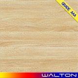 Azulejo de suelo de cerámica de la porcelana del diseño de madera del material de construcción 600*600 (JM60011)