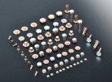 Contato elétrico da soldadura do cobre do interruptor da parede da alta qualidade o micro derruba o contato de prata