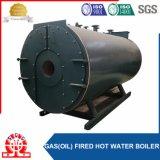 Caldaie a vapore a gas orizzontali di alta efficienza con il bruciatore di Weishaup