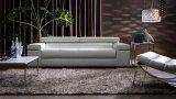 Sofá de couro de sala de estar para sofá de casa / sofá de escritório