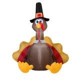 Feliz Día de Acción de Gracias Decoración inflable Turquía